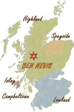 ベンネヴィス地図