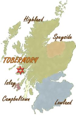 トバモリー地図